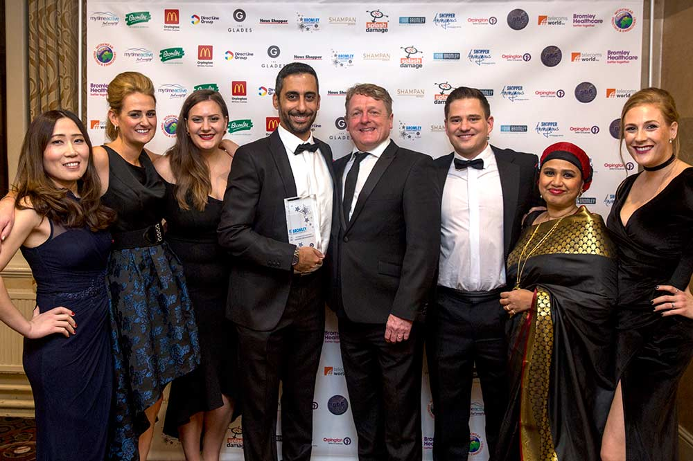 Premier Orthodontics Winner of Best Business in Customer Service at Bromley Business Awards 2017