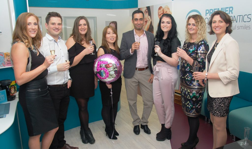 The Staff of Bromley orthodontist, Premier Orthodontics