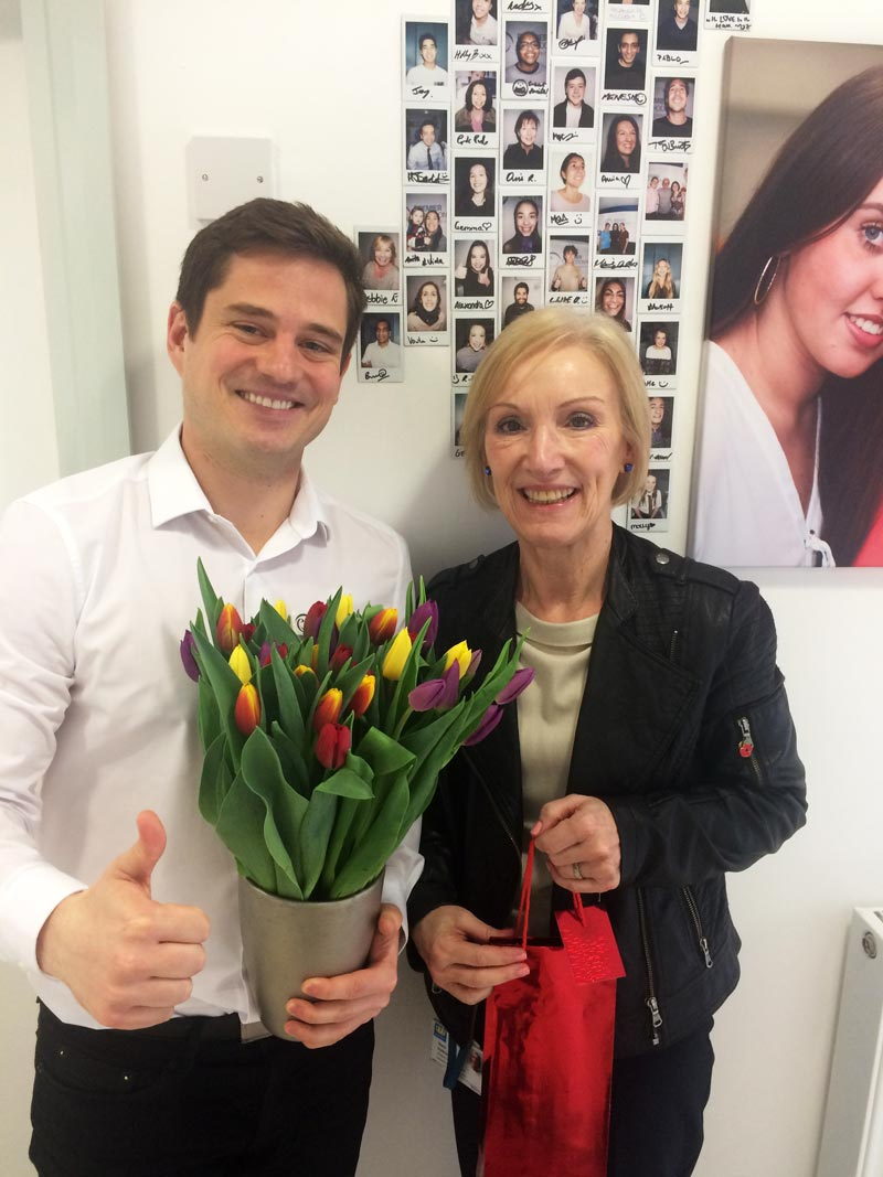 Premier Orthodontics Bromley Review - Diane with Zoltan