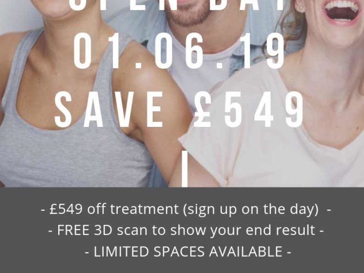 Invisalign Offer Open Day June 2019 Save £549