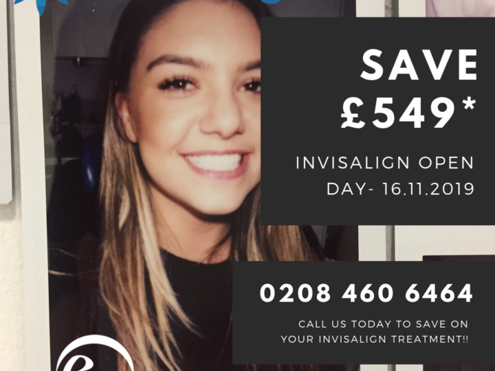 Invisalign Open Day – 16th November – SAVE £549