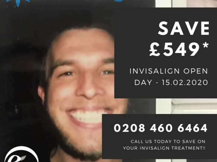 Save £549 – Invisalign Open Day – 15/02/2020