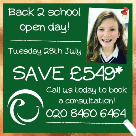 Braces Promotions Discounts Special Offers For Students London July 2020 by Premier Orthodontics