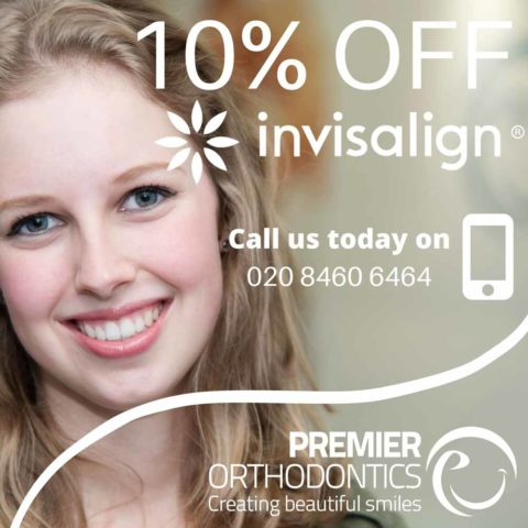 Invisalign Discount London 10% Off Save up to £519 at Premier Orthodontics
