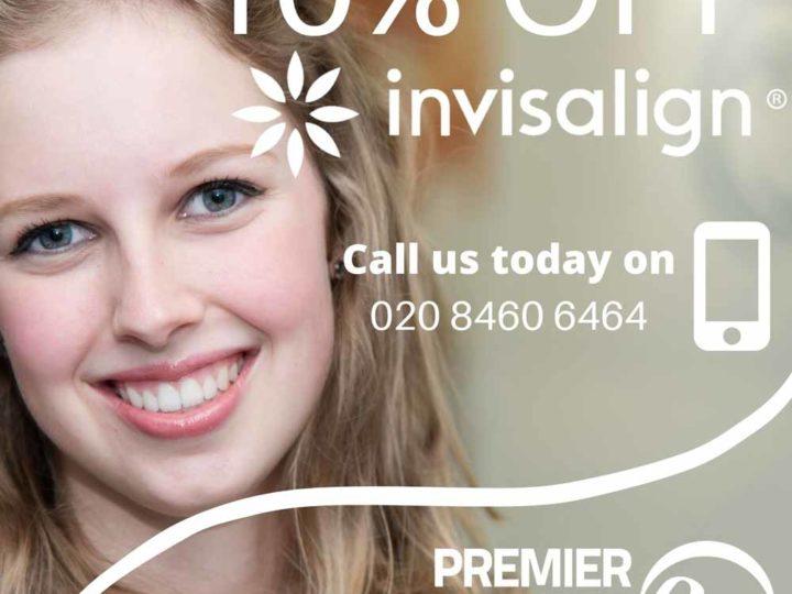 10% off Invisalign treatments!