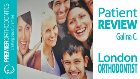 Orthodontist London Reviews by Galina : Premier Orthodontics