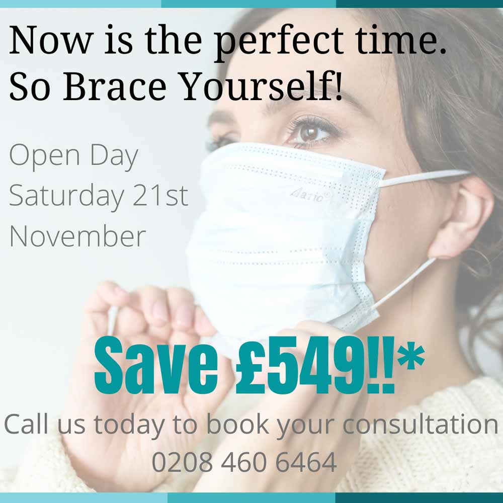 Cheap Invisalign Offers Deals & Discounts London by Premier Orthodontics Nov 2020
