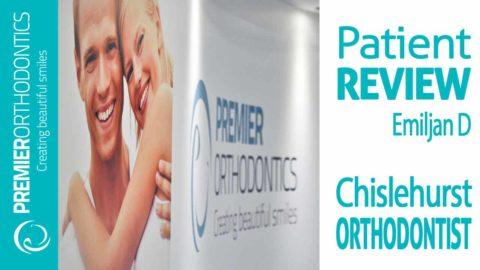 Orthodontist near Chislehurst Review by Emiljan D Premier Orthodontics [VIDEO]